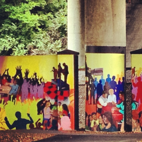 Gateway to Heritage: Jefferson Street underpass mural in North Nashville